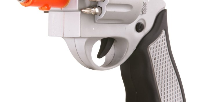 Gun Shaped Screwdriver