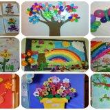 collage decoración primavera portada