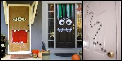 S per colecci n mas de 50 puertas para decorar y tu clase for Puertas decoradas halloween