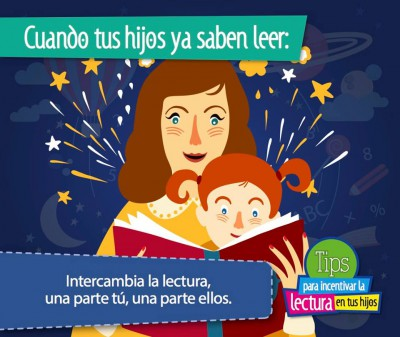 TIPS para incentivar la lectura en tus hijos e hijas (2)