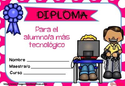 Diplomas FIN DE CURSO para premiar actitud y las capacidades (1)
