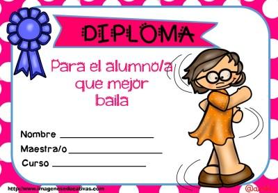 Diplomas FIN DE CURSO para premiar actitud y las capacidades (10)