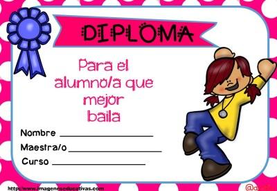 Diplomas FIN DE CURSO para premiar actitud y las capacidades (5)