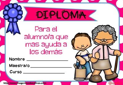 Diplomas FIN DE CURSO para premiar actitud y las capacidades (8)