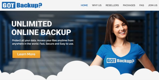 Unlimited Online Backup
