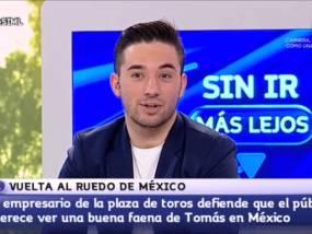 El fenómeno José Tomas en Aragón TV con Imanol Sánchez