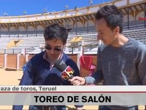 Tentadero Solidario en Aragon TV