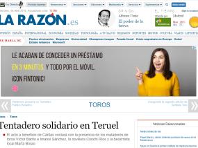 Tentadero Solidario en Teruel