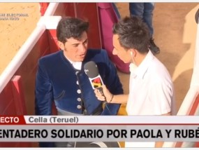 Tentadero Solidario en Cella Aragon TV