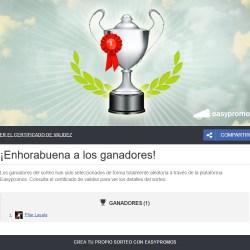 Ganador Entradas Huesca