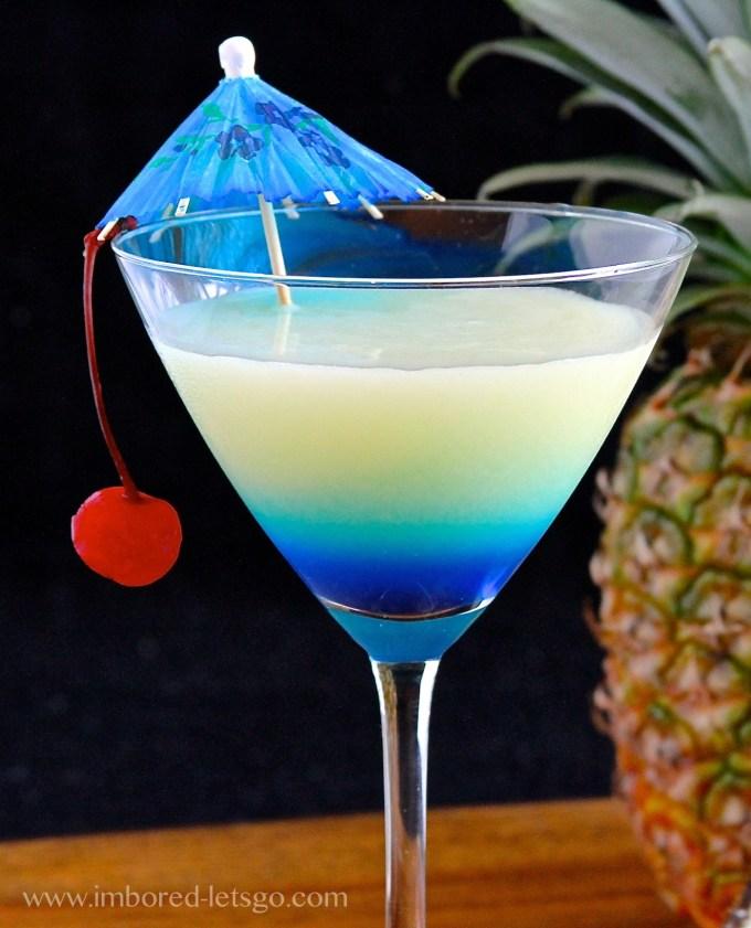 Pina Colada-tini - martini style