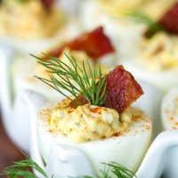 Candied-Bacon-Deviled-Eggs