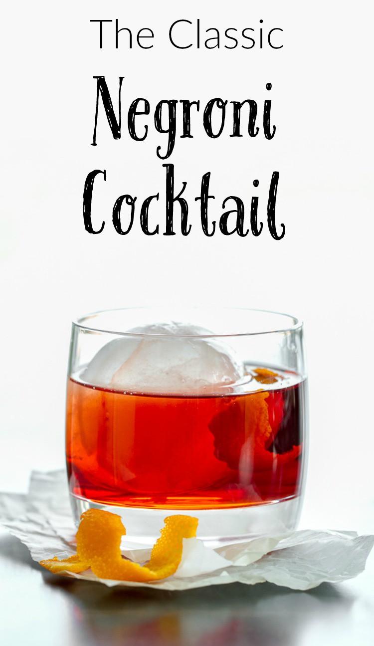 ... classic negroni recipe saveur classic negroni cocktail recipe