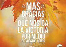 Muchas Imágenes Cristianas sobre la Gratitud