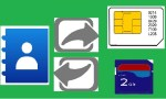 Import Export Transfer Contacts from SD Card, SIM Card, Name Card on Android