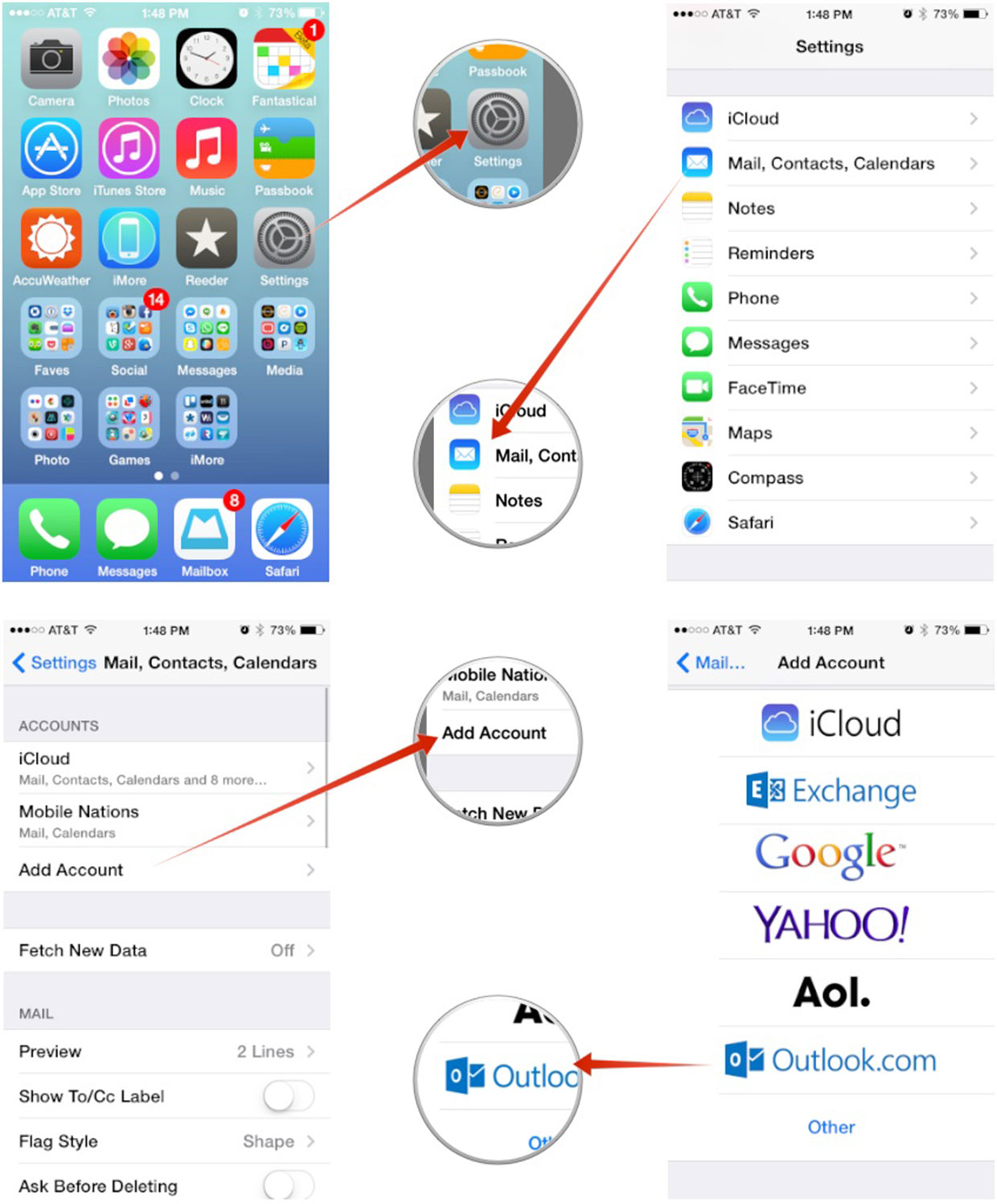 ... To Your IPhone Or IPads .How To Set Up Gmail Through Microsoft Outlook
