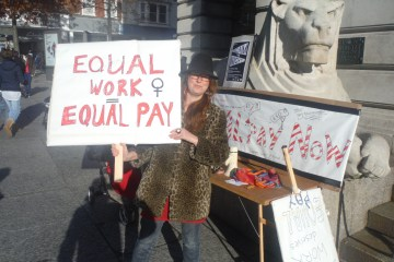 equal payday protest