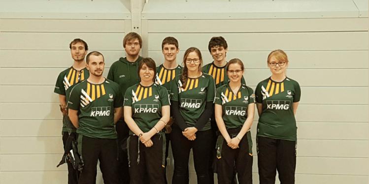 The maiden UoN Archery Varsity Team