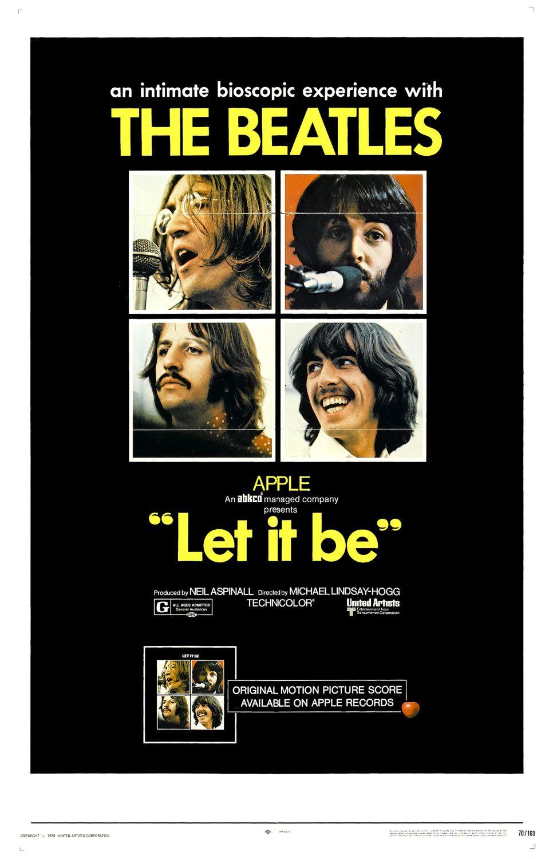Poster do filme Let It Be