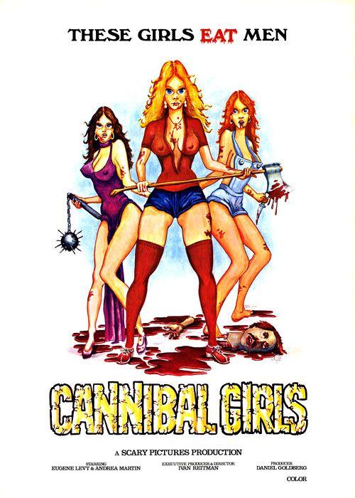 Poster do filme Cannibal Girls