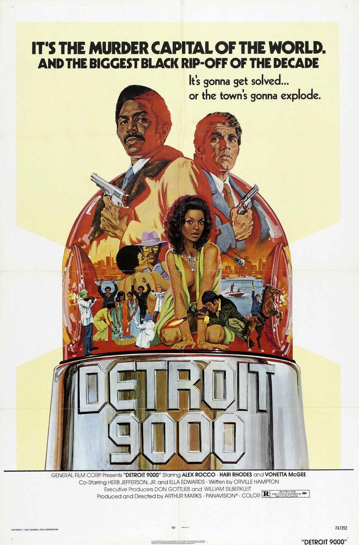 Poster do filme Detroit 9000