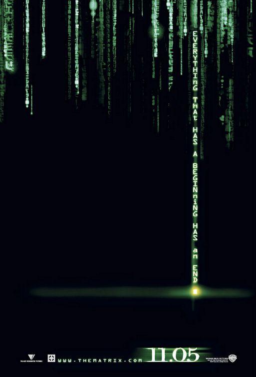 Poster do filme Matrix Revolutions