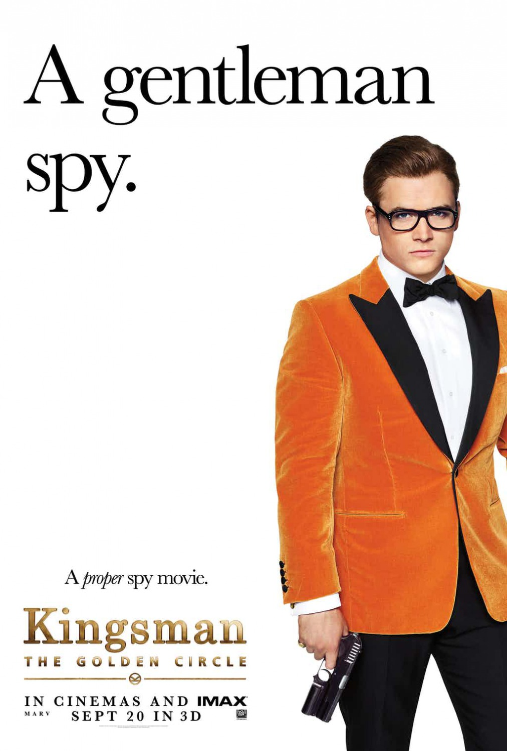 other sizes 1013x1500 kingsman the golden circle movie poster