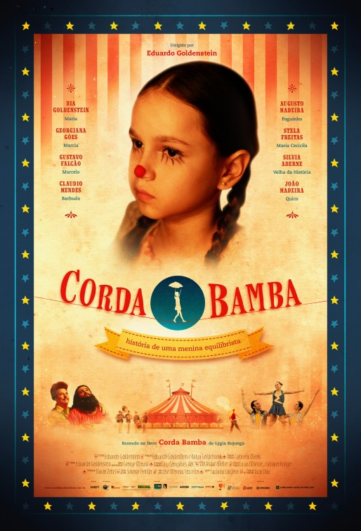 Poster do filme Corda bamba - história de uma menina equilibrista