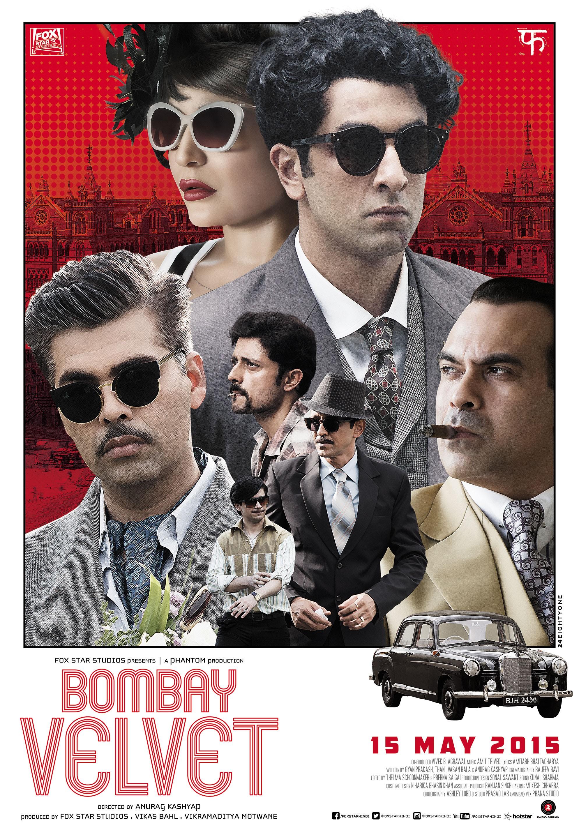Poster do filme Bombay Velvet
