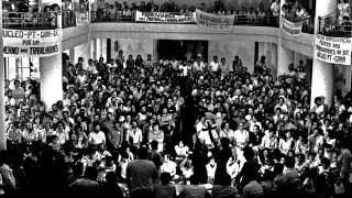 Encontro Nacional de Fundação do Partido dos Trabalhadores, PT. ColÈgio Sion. SP. 10.02.1980. Foto de Juca Martins.