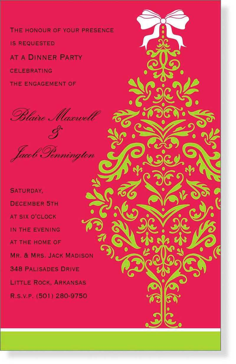 Attractive Christmas Party Invites Ideas Image - Invitations and ...