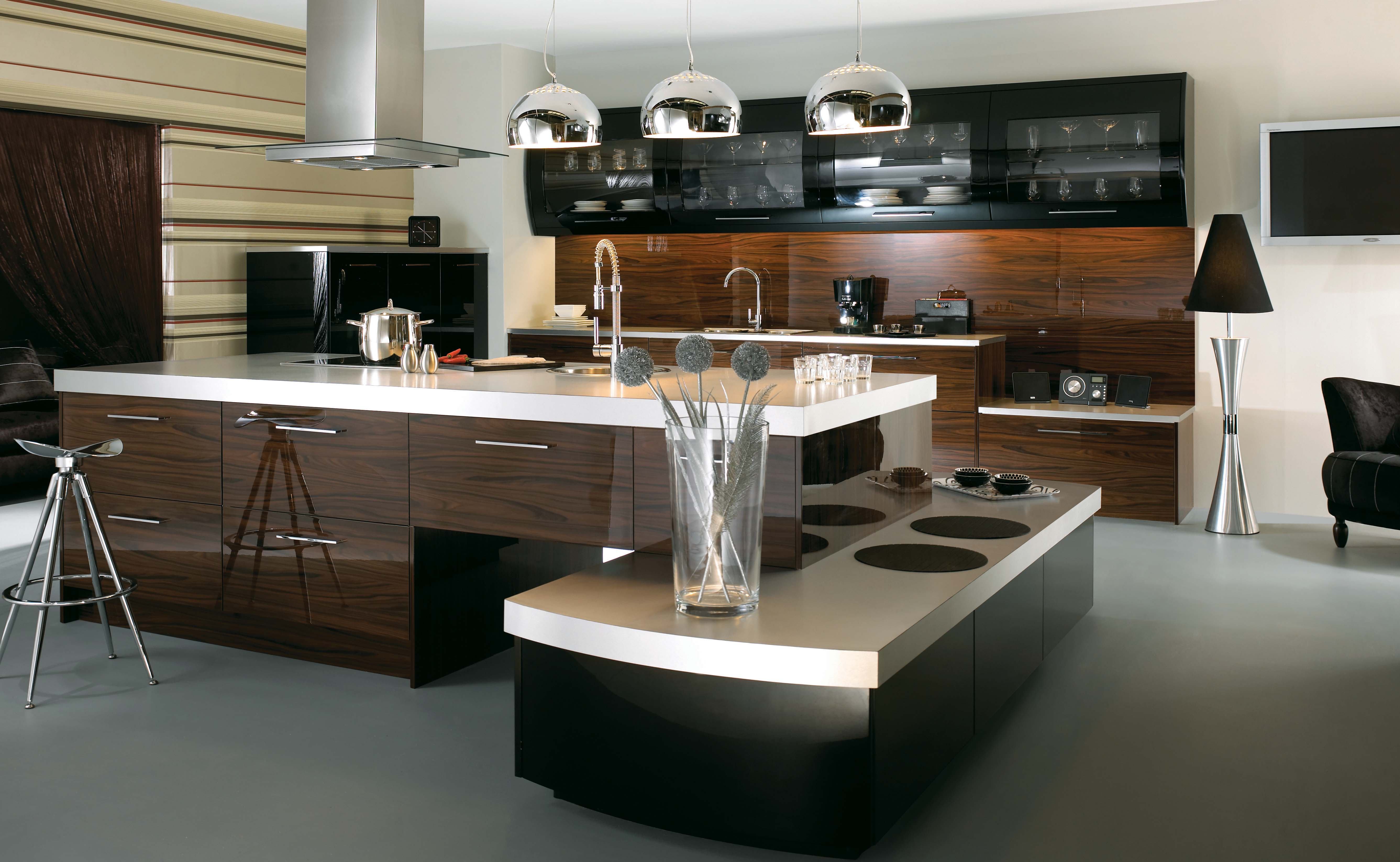the unexpected stylish look of black kitchen designs kitchen designs The Unexpected Stylish Look Of Black Kitchen Designs 14
