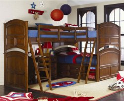 Small Of Triple Bunk Bed Plans