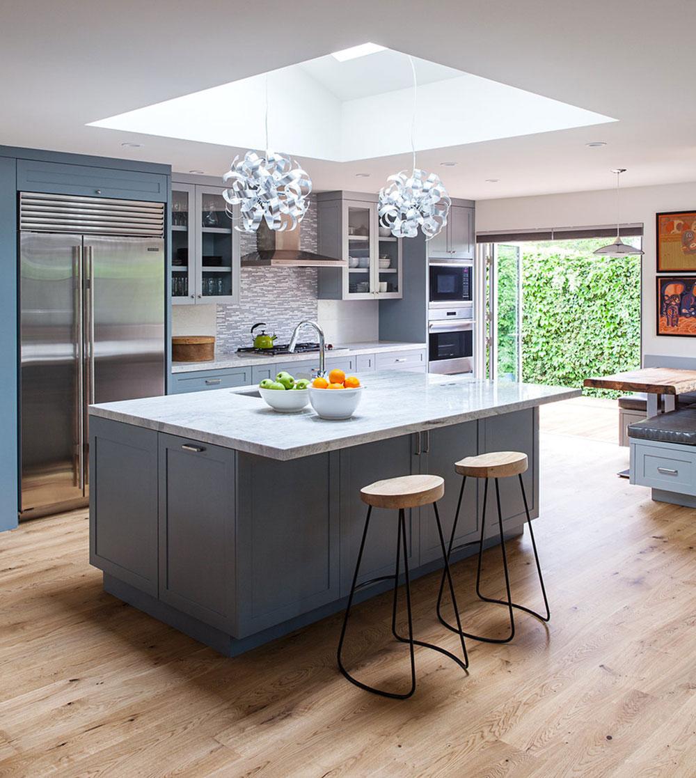 Stylized Showcase Overwhelming Large Luxury Kitchens13 Large Open Plan Kitchens Large Kitchens Island kitchen Beautiful Large Kitchens