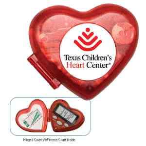 Heart Shape Pedometer