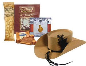 Cowboy Hat Snack Box