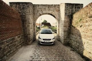 Peugeot 308SW test drive at le Touquet (Paris-Plage) April 2014
