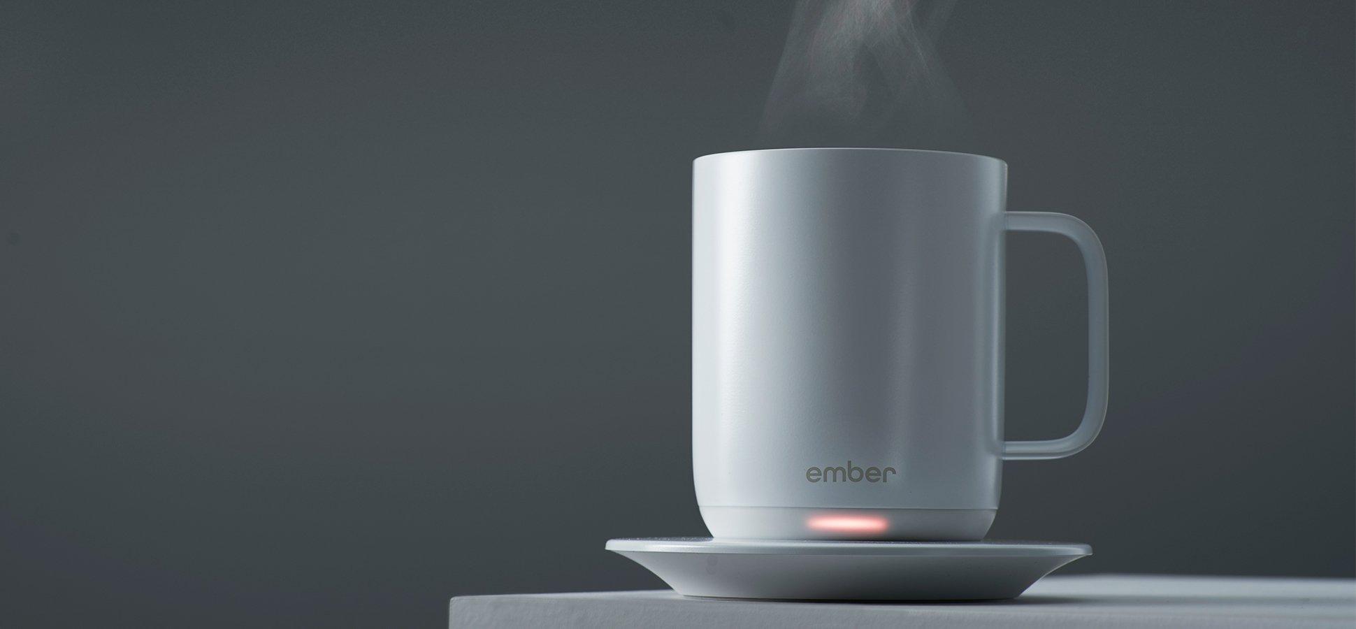 Glomorous Starbucks Is Now Selling Ceramic Ember Mug Futuristic Coffee Mug furniture Futuristic Coffee Mug