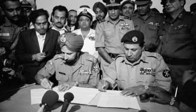 Pakistani Army Surrenders at Dhaka