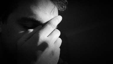 a man in depression