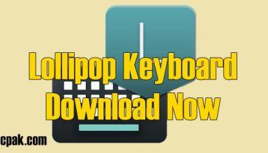 Lollipop keyboard