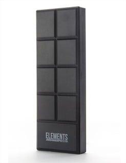 Elements Protection Chocolate Power Bank - Black - Google Chrome