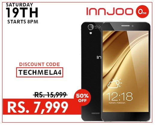 Innjoo One 50% discount offer