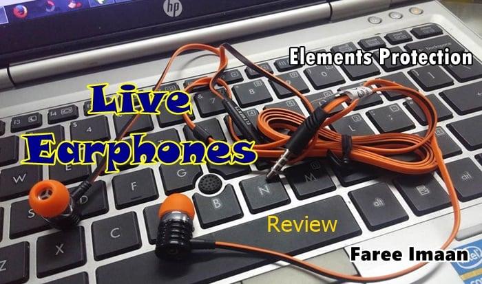 Live earphones