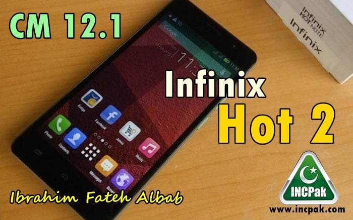 CM 12.1 for Infinix Hot 2