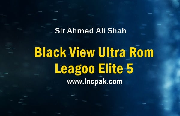 Black View Ultra Rom