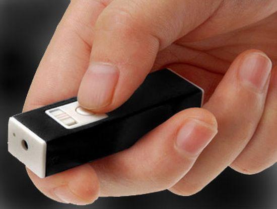 fingertip micro camcorder