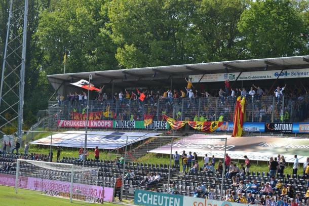 Go Ahead Eagles in de hekken Venlo 4