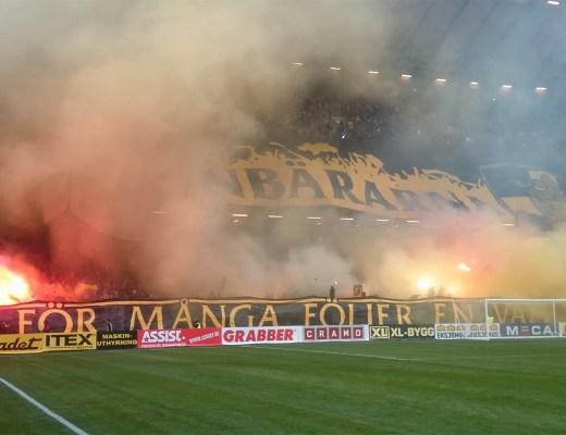 AIK vs Hammarby, Stockholmsderby, maart 2015