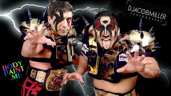 Legion of Doom (double face paint)